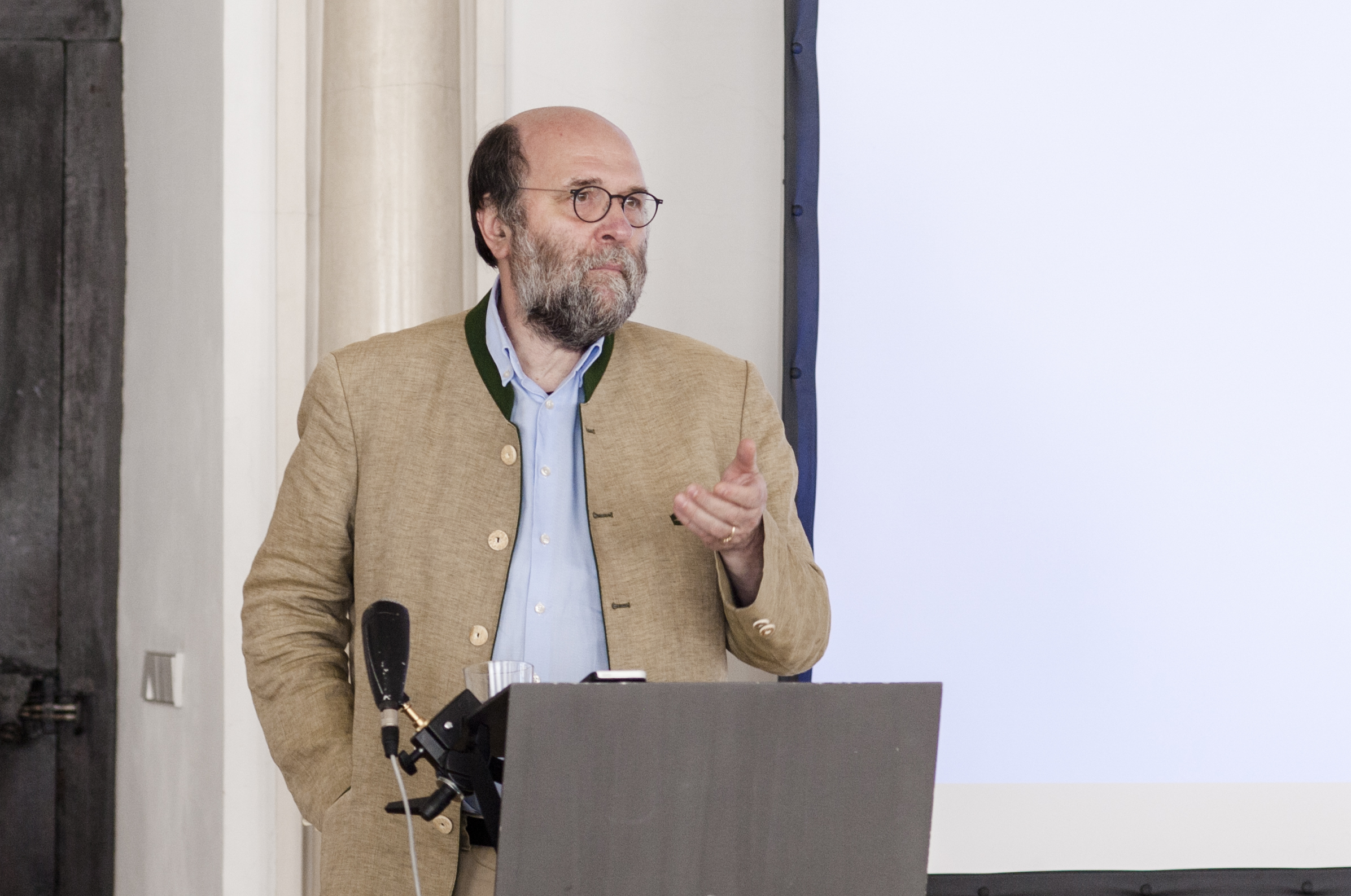 """Michael Kuhn, Senior Advisor bei der """"Kommission der Bischofskonferenzen der Europäische Union"""" in Brüssel"""