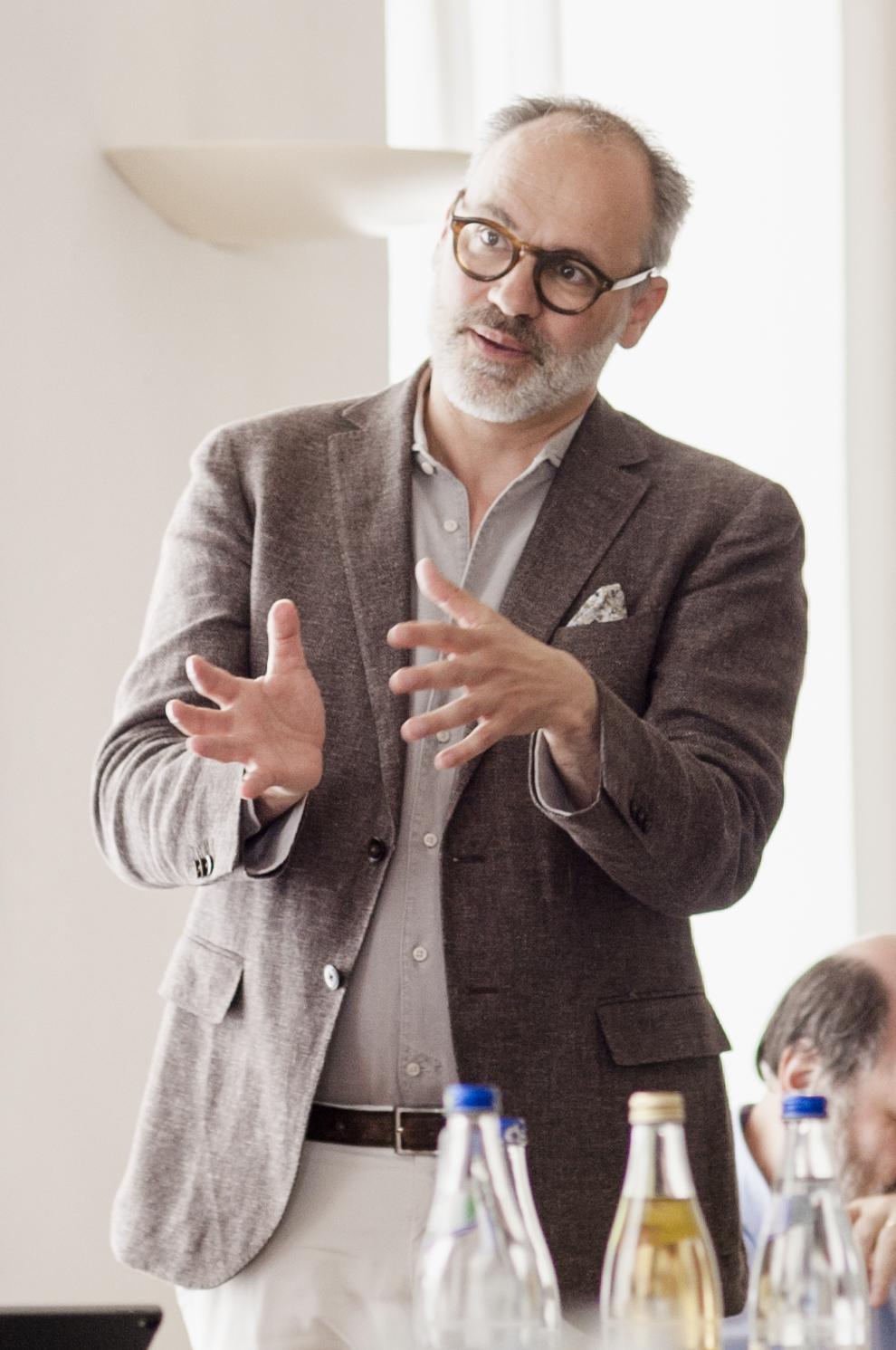 Dr. Dr. Oliver Putz, Affiliate Scholar am IASS, Institut für transformative Nachhaltigkeitsforschung, Potsdam