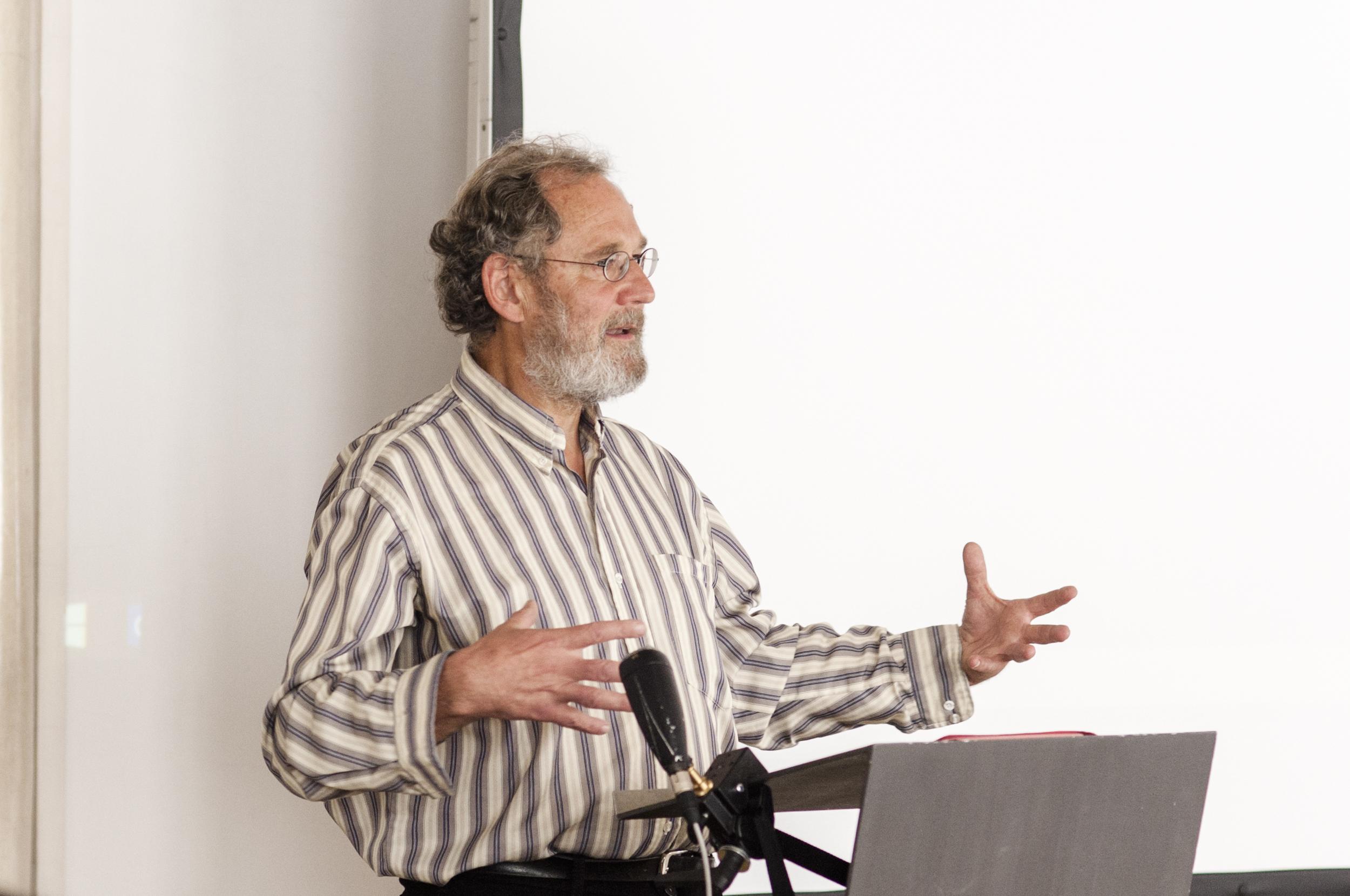 Prof. Dr. Stefan Bauberger SJ von der Hochschule für Philosophie München